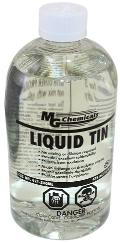 Solda Liquida (LIQUID TIN) 500ml - MG CHEMICALS