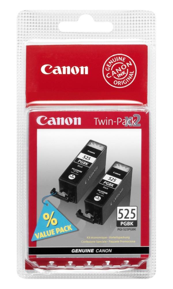 Pack 2x Tinteiros 525 (Preto) - CANON