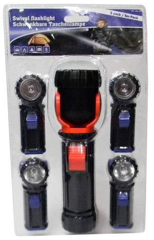 Pack 5 Lanternas 90º - ProFTC