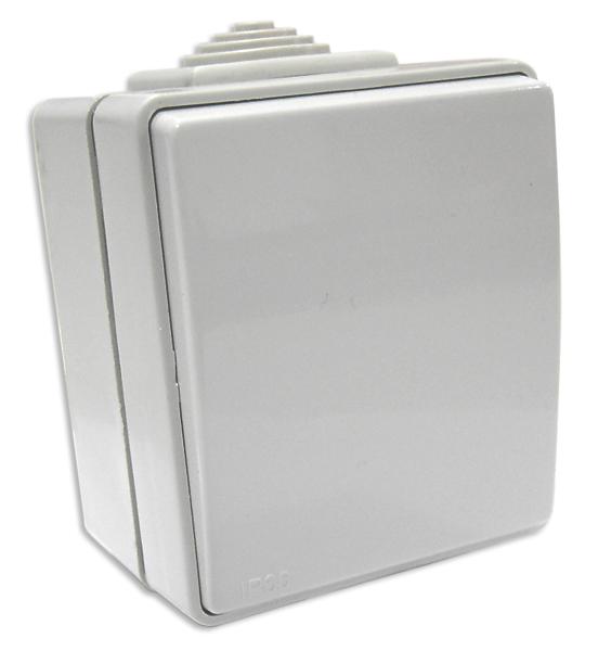 Interruptor Unip. Cinz. 16A 250V Série Estanque48 - EFAPEL
