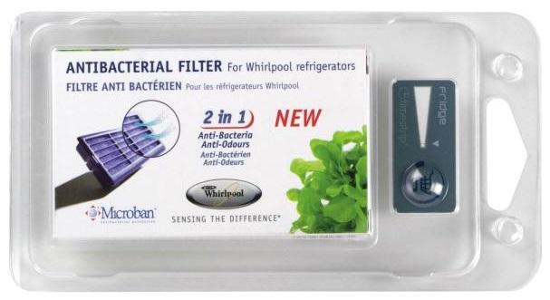 Filtro Antibacteriano e Anti-Odores p/ Frigoríficos ANTF-MIC - WPRO