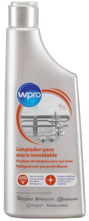 Creme de Limpeza Electrodomésticos p/ Aço Inoxidável IXC127 (250ml) - WPRO