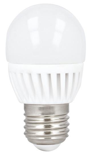 Lampada LED Opalina 220V E27 10W Branco Q. 3000K 900Lm