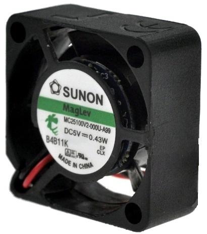 Ventilador 25x25x10mm 5V - SUNON