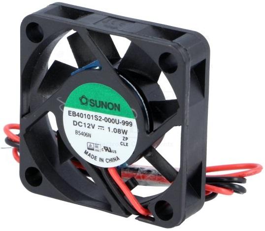 Ventilador 40x40x10 12V - SUNON