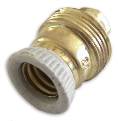 Suporte de Lampada E14 Porcelana - EDM