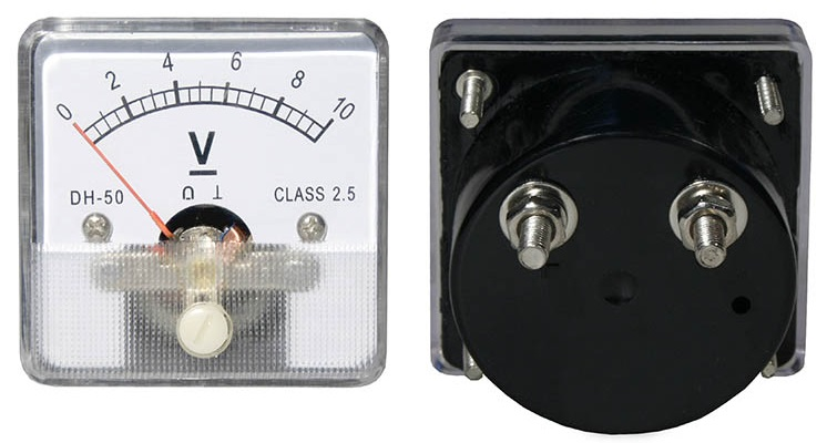Voltímetro de Painel DC 10V - ProFTC