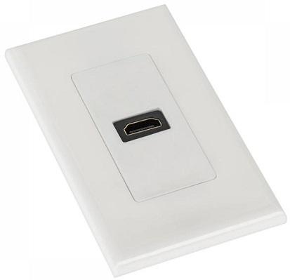 Tomada Interior 1 x HDMI Branca