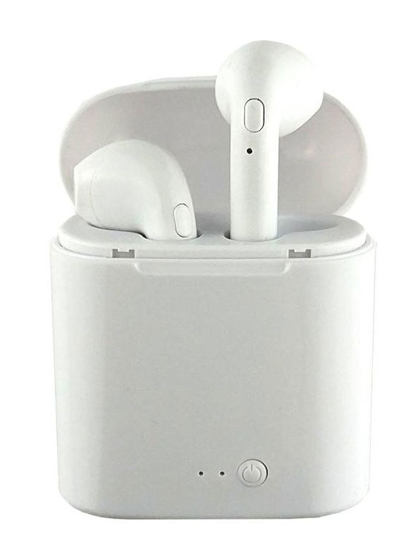 Headphones Bluetooth s/ Fios (IOS/Android) Branco - ProFTC