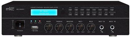 Amplificador Linha 70/100V 60W (4-16ohm) BLUETOOTH/FM/USB/SD (MK1060D+) - MKC