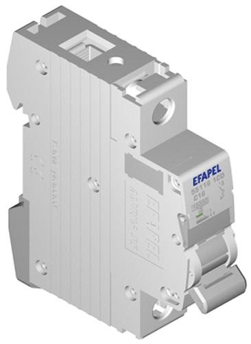 Disjuntor MT - 1P - 4,5kA - C - 10A Série MODUS55 - EFAPEL