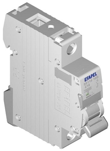 Disjuntor MT - 1P - 4,5kA - C - 20A Série MODUS55 - EFAPEL