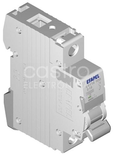 Disjuntor MT - 1P - 4,5kA - C - 25A Série MODUS55 - EFAPEL