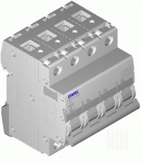 Disjuntor MT - 4P - 6kA - C - 63A Série MODUS55 - EFAPEL