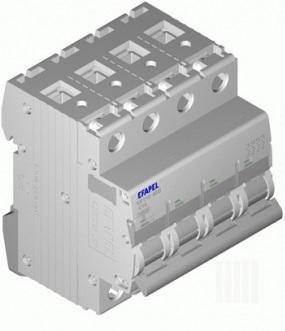 Disjuntor MT - 4P - 10kA - C - 63A Série MODUS55 - EFAPEL