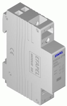 Contactor 2NA - 230V - 20A Série MODUS55 - EFAPEL