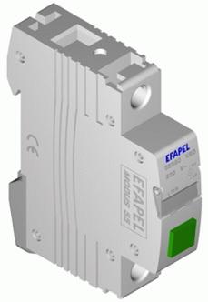 Sinalizador Luminoso c/ Difusor Verde - EFAPEL