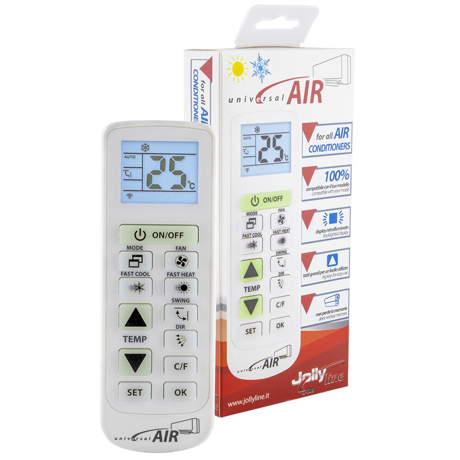 Comando Ar Condicionado (UNIVERSAL AIR) - JollyLine
