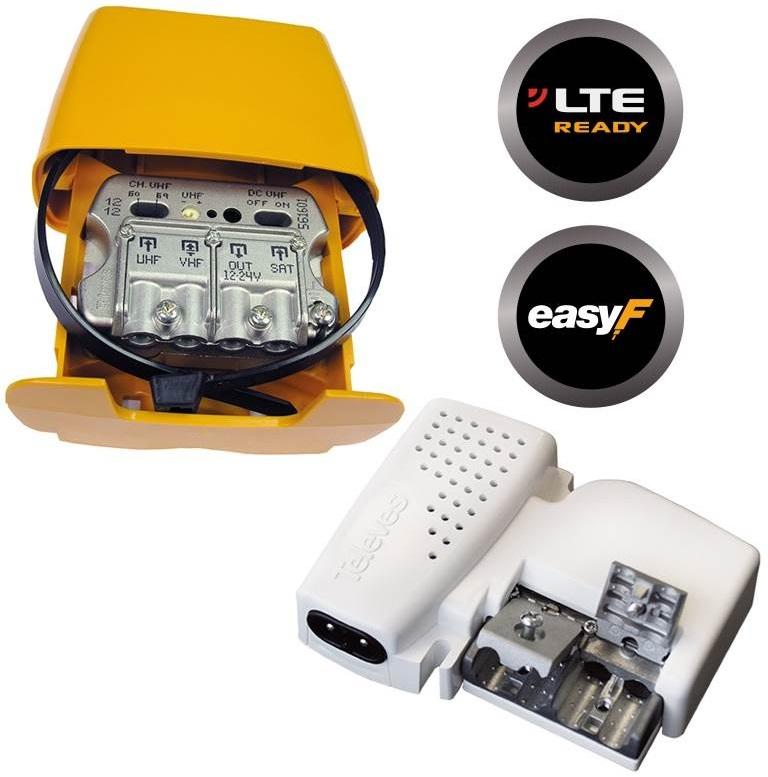 Kit Amplificador Mastro (561601) + Alimentador 12V (5796) - TELEVES
