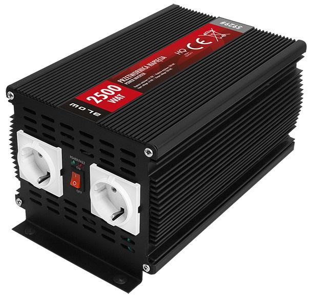 Conversor 12V -> 220V 2500W Shuck - BLOW