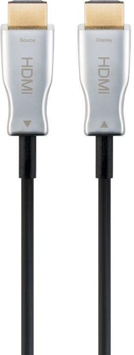 Cabo HDMI Óptico Amplificado 1.4/2.2 4K 3D 19P Macho - Macho (80 mts) - GOOBAY