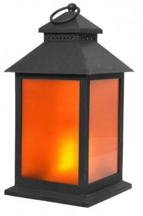 Candeeiro Decorativo 24x LEDs c/ Efeito Chama (Pilhas)