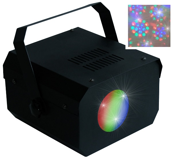 Projector Efeitos Disco 18 LEDs (Moon Flower)  - PartyFunLights