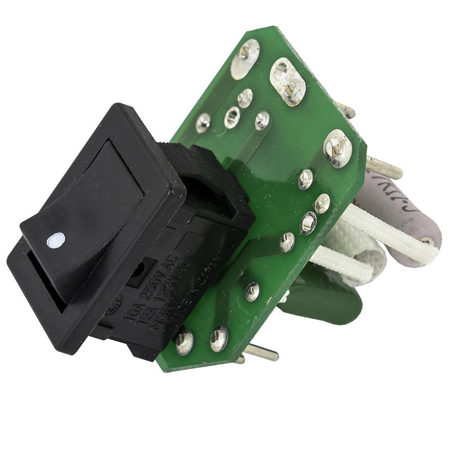 Interruptor ON-OFF com Placa p/Pistola Dessoldar DIC SC-7000
