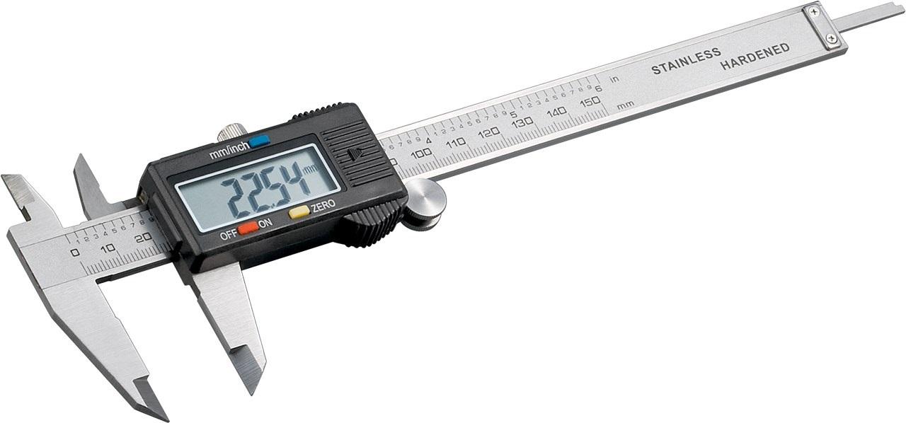Paquimetro Digital 0 ~ 150mm (Aço Inoxidável Temperado) - ProFTC