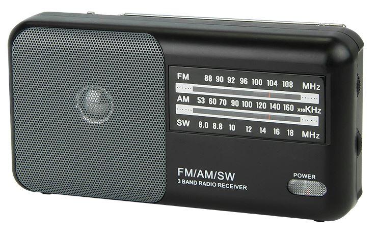 Rádio Portátil AM/FM Analógico (RA4) - BLOW