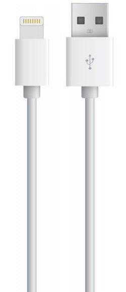 Cabo p/ Apple iPhone  5 / 5C / 5S / 6 / 6+ / iPad  5 / 5C / 5S / 6 / 6+ / 7 (IOS10) - 1 Metro