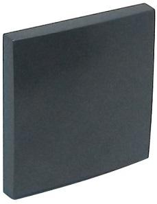 Tecla Simples Série LOGUS90 (Cinza) - EFAPEL