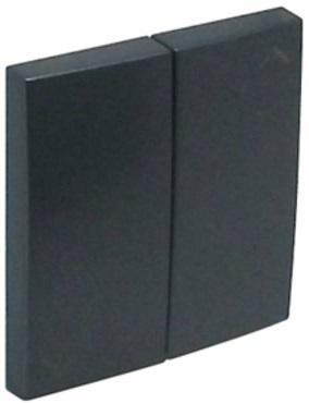 Tecla Dupla de Estore Série LOGUS90 (Cinza) - EFAPEL