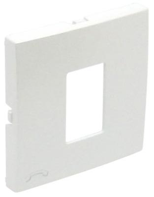 Centro p/ Tomada Telefónica Branco Série LOGUS90 - EFAPEL