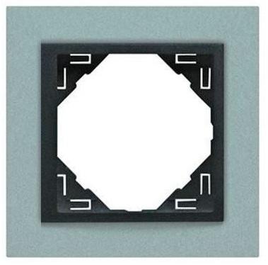 Espelho Simples Série LOGUS90 (ANIMATO Alumina + Gris) - EFAPEL