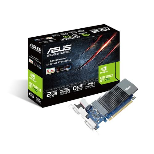 Placa Gráfica GeForce GT 710 2GB GDDR5 - ASUS