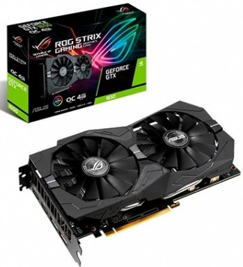 Placa Gráfica Geforce GTX 1650 Rog Strix OC 4GB - ASUS