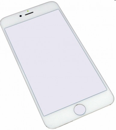 Vidro do Ecrã iPhone 6/6S Plus Branco