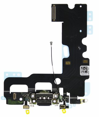 Flex. Conector Carga Lightning Iphone 7 Preto