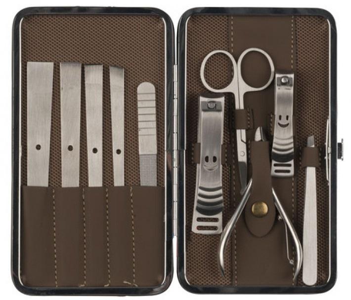 Kit Manicure e Pedicure (11 Peças) - ProFTC