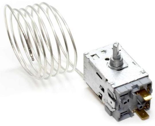 Termostato p/ Frigorifico 2 Portas com 2 Ligações Capilar 12000mm