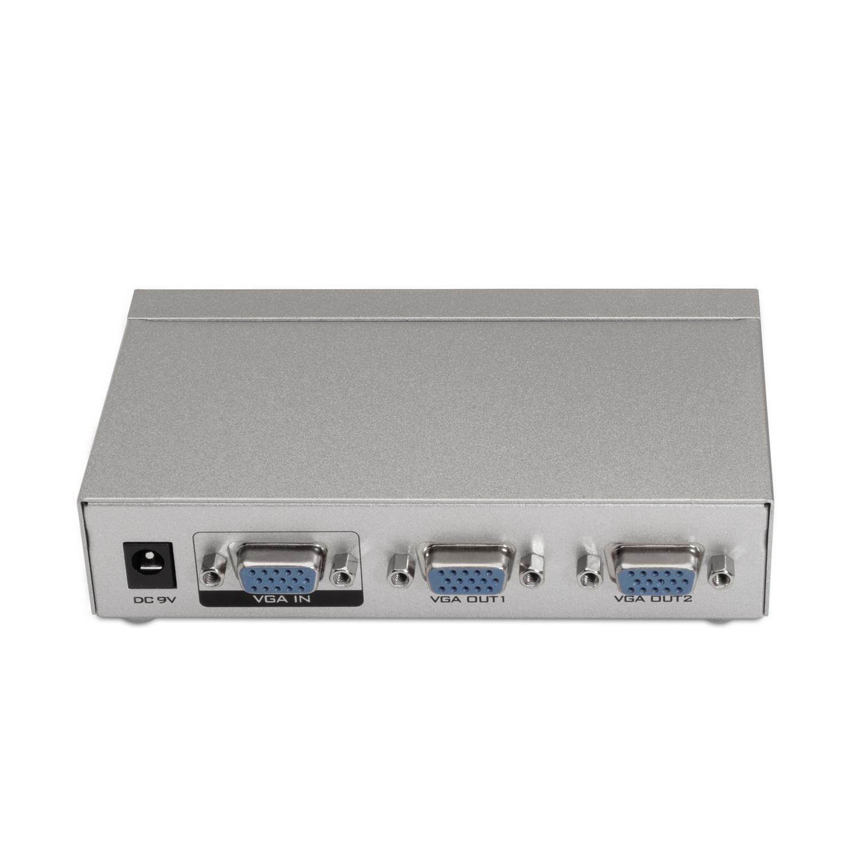 Splitter VGA - 2x VGA WQXGA (Cinzento) - AISENS