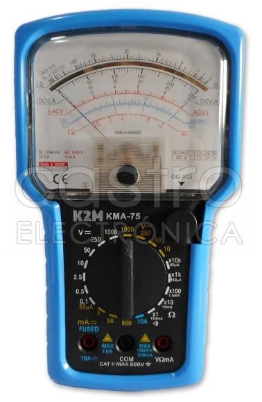 Multimetro Analógico KMA-75 - K2M