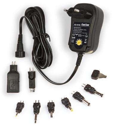 Alimentador Regulável 3~12V 1000mA - FONESTAR