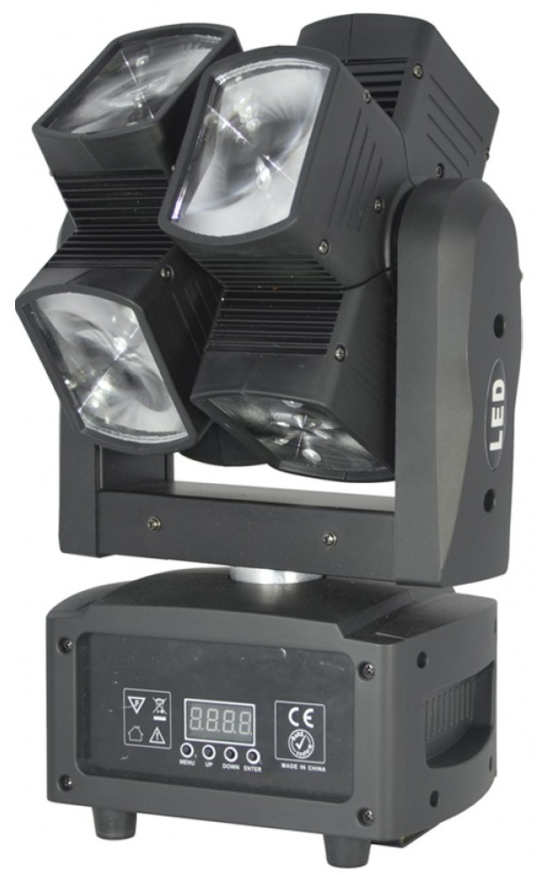 Moving Head (8 Cabeças) BEAM RGBW 96W LED DMX - ACOUSTIC CONTROL