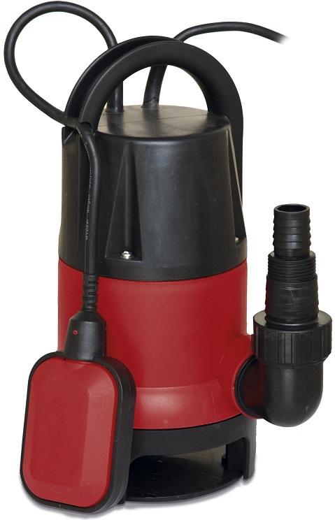Bomba de Água Suja 400W 7500L/h 0,5Bar - WORGRIP