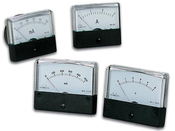 Amperimetro Painel 500mA DC (70x60mm)