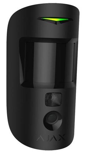 Sensor PIR Bi-Direccional c/ Câmara s/ Fios 868MHz (Preto) p/ Alarme AJAX HUB 2