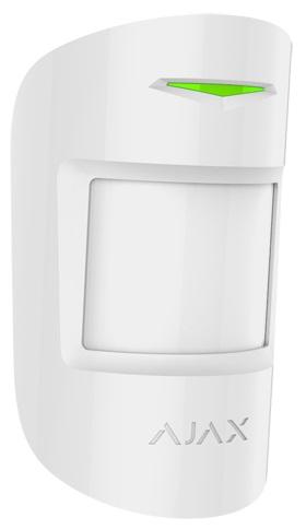 Sensor 1x PIR / 1x Microondas s/ Fios 868MHz (Branco) p/ Alarme AJAX AJ-HUBKIT