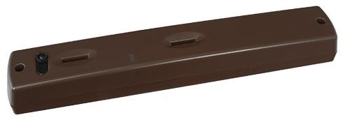 Sensor Movimentos PIR e Microondas s/ Fios t/ Cortina IP54 3mts 35º (Castanho) - AJAX
